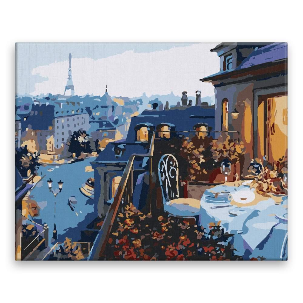 Malování podle čísel Víkend v Paříži